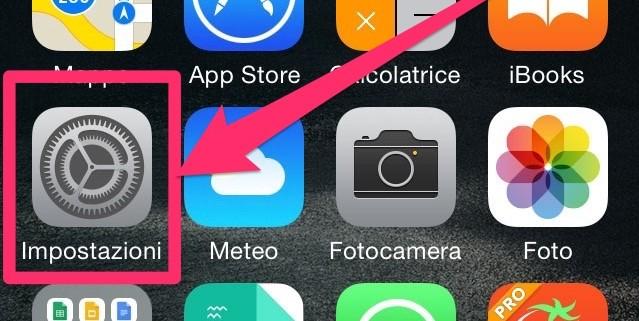 Spazio Disponibile iPhone Impostazioni