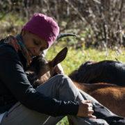 La ragazza etiope in Trentino
